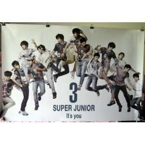 Super Junior 3 Its You POSTER 34 x 23.5 horizontal SuJu Superjunior