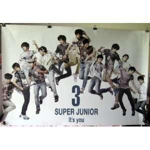 Super Junior 3 Its You POSTER 34 x 23.5 horizontal SuJu Superjunior
