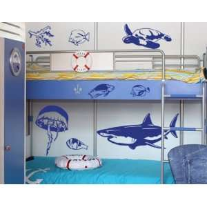 Seaworld Set   Vinyl Wall Decal