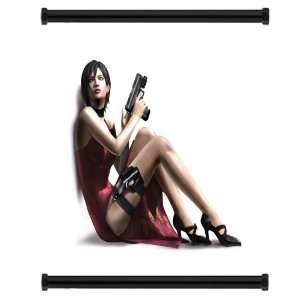 Resident Evil 4 Game Fabric Wall Scroll Poster (16 x 17