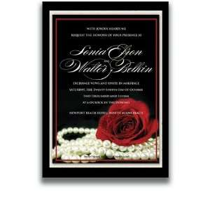 55 Rectangular Wedding Invitations   Material Girl Office Products