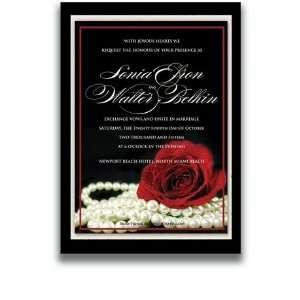 55 Rectangular Wedding Invitations   Material Girl