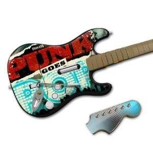 PUNK20028 Rock Band Wireless Guitar  Punk Goes Pop  Punk Goes Pop Skin
