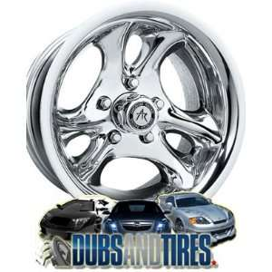 15 Inch 15x10 AMERICAN RACING PERFORM wheels VENTURA Chrome wheels