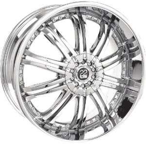 TIS TIS07221145 TIS07 CHROME Wheel Rim 22 11x5 5x112 Automotive
