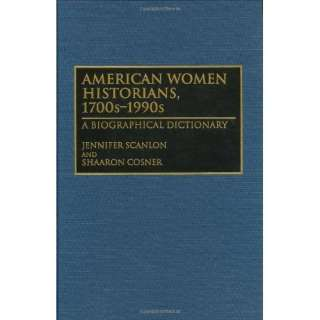 Image: American Women Historians, 1700s 1990s: A Biographical