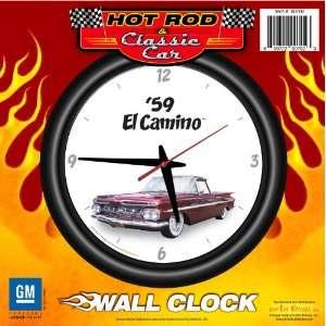1959 Chevy El Camino 12 Wall Clock   Chevrolet, Hot Rod