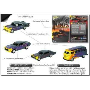 Chevy Bel Air ,VW Samba Bus, Dodge Charger, Chevy Camaro: Toys & Games