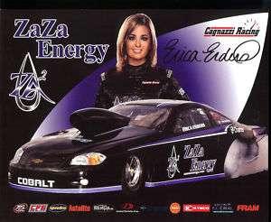 2011 Erica Enders NHRA Postcard