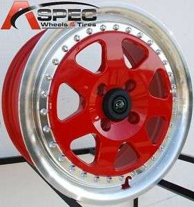 15 ROTA J MAG RIM WHEELS 4X100 CIVIC CRX FIT INTEGRA