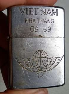 Original Vietnam Zippo 1968 US Army WOW very race , vietnam war , U.S