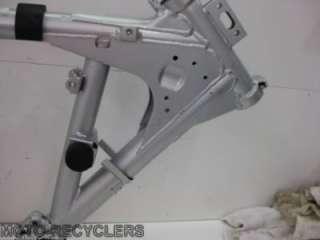 07 KLR650 KLR 650 Frame chassis complete 1 T