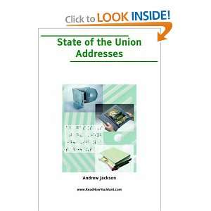 State of the Union Addresses (9781425032586) Andrew Jackson Books