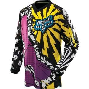 Off Road/Dirt Bike Motorcycle Jersey   Yellow / X Large Automotive