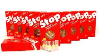 SUPER STOP Cigarette Filters, Remove Tar & Nicotine 10 Packs (300