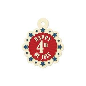 Keepers   Embossed Tags   Happy 4th of July Arts, Crafts & Sewing