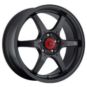 Backbone (Matte Black) Wheels/Rims 4x100 (BC67100405) Automotive