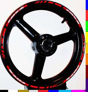 RIM STRIPE WHEEL DECAL TAPE STICKER CBR 954RR 1000RR RR