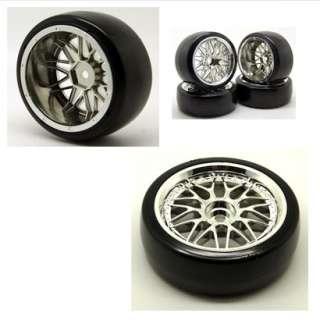 Drift Hard tires tyre,Plastic wheel rim on 1:10 car 1008 5003