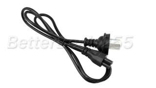 AU 3 Prong AC Power Cord 3Pin Adapter Cable Black New for Laptop