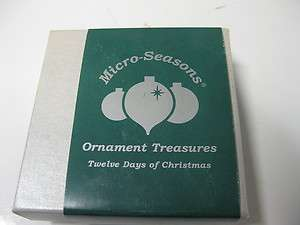 Micro Trains Twelve Days of Christmas Tree Ornaments 2nd Day Stock