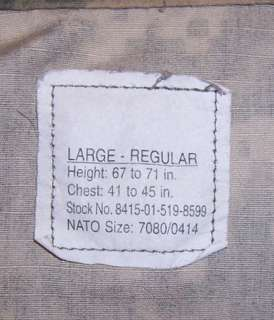 US Army Special Operations Command SOCOM Airborne ACU Camo Shirt With