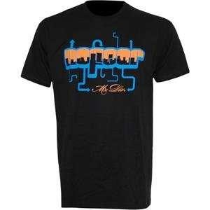 No Fear Arrows T Shirt   Large/Black/Orange