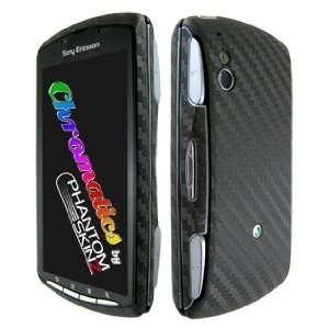 Sony Ericsson Xperia Play Black Carbon Fiber Full Body
