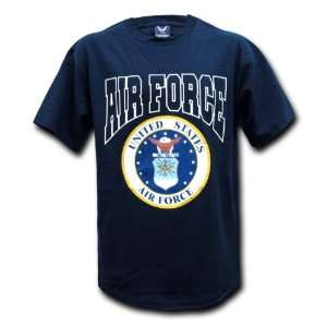 United States Air Force Official Seal Design T shirt Size