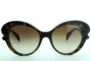 BRAND NEW AUTHENTIC PRADA SUNGLASSES SPR 28N 2AU 6S1 HAVANA DESIGNER