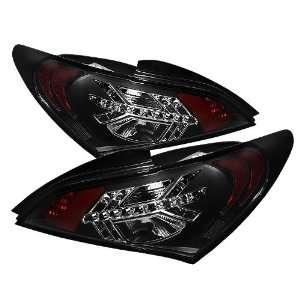 Spyder Auto ALT YD HYGEN09 LED BK Hyundai Genesis Black