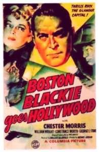 Film   BOSTON BLACKIE GOES HOLLYWOOD   Chester Morris 1942 Movie