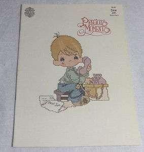 1982 Precious Moments Cross Stitch Book 3 Dear Jon