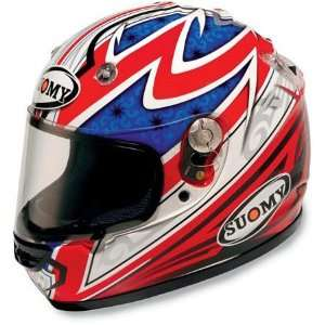 Suomy Vandal Pattern Full Face Helmet XX Large  Red