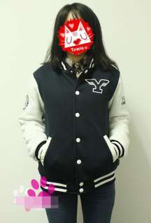 Super Junior Suju Yonsei University Varsity Baseball Uniform Jacket