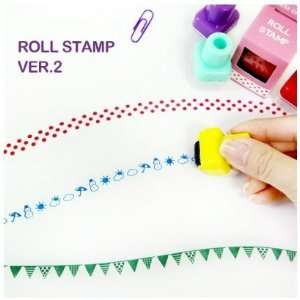 Roll Stamp v2, Weather Arts, Crafts & Sewing