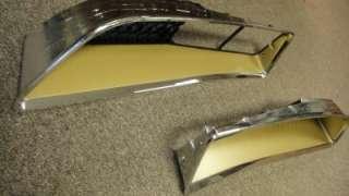 NEW 1977 1978 Pontiac Trans Am Front Grilles GOLD Pair Y81 Y82 Y83 Y84