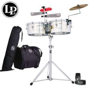 LP Latin Percussion Tito Puente Timbales Set   14 & 15