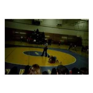 Determined to Win by a Pin   High School Wrestling