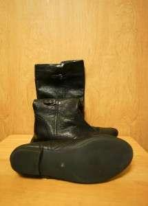 EUC $169 DOLCE VITA Womens Travis Knee Hign Leather Boots 10 M Black