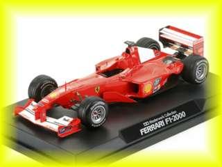 Car Michael Schumacher F 1 2000 F1 Formula1 One Red Japan Rare