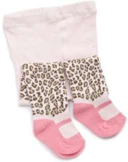 Carters Hosiery Baby girls Newborn Cheetah Kitty Tight