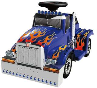 Transformers optimus prime kids 6 volt truck power ride on