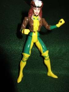 1994 TOY BIZ MARVEL XMEN XFORCE ROGUE ACTION FIGURE POWER PUNCH RARE