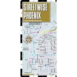 Streetwise Phoenix Map   Laminated City Center Street Map of Phoenix