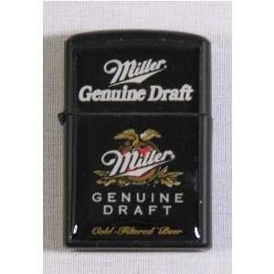 Miller Genuine Draft Windproof Lighter