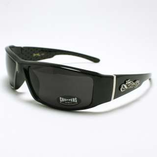 BIKE Design Choppers Sunglasses Motorcycle Rider BLACK