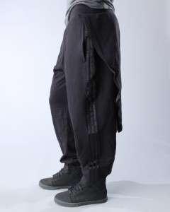 Adidas Originals by Jeremy Scott ObyO Tails Sweatpants Black Tux Pants