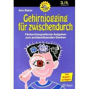 zwischendurch. 3./4. Jahrgangsstufe (9783403047520): Ann Baker: Books