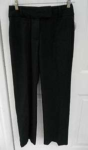 NWT RAFAELLA PETITE Black Stretch Dress Pants SZ 4 4P 28x30